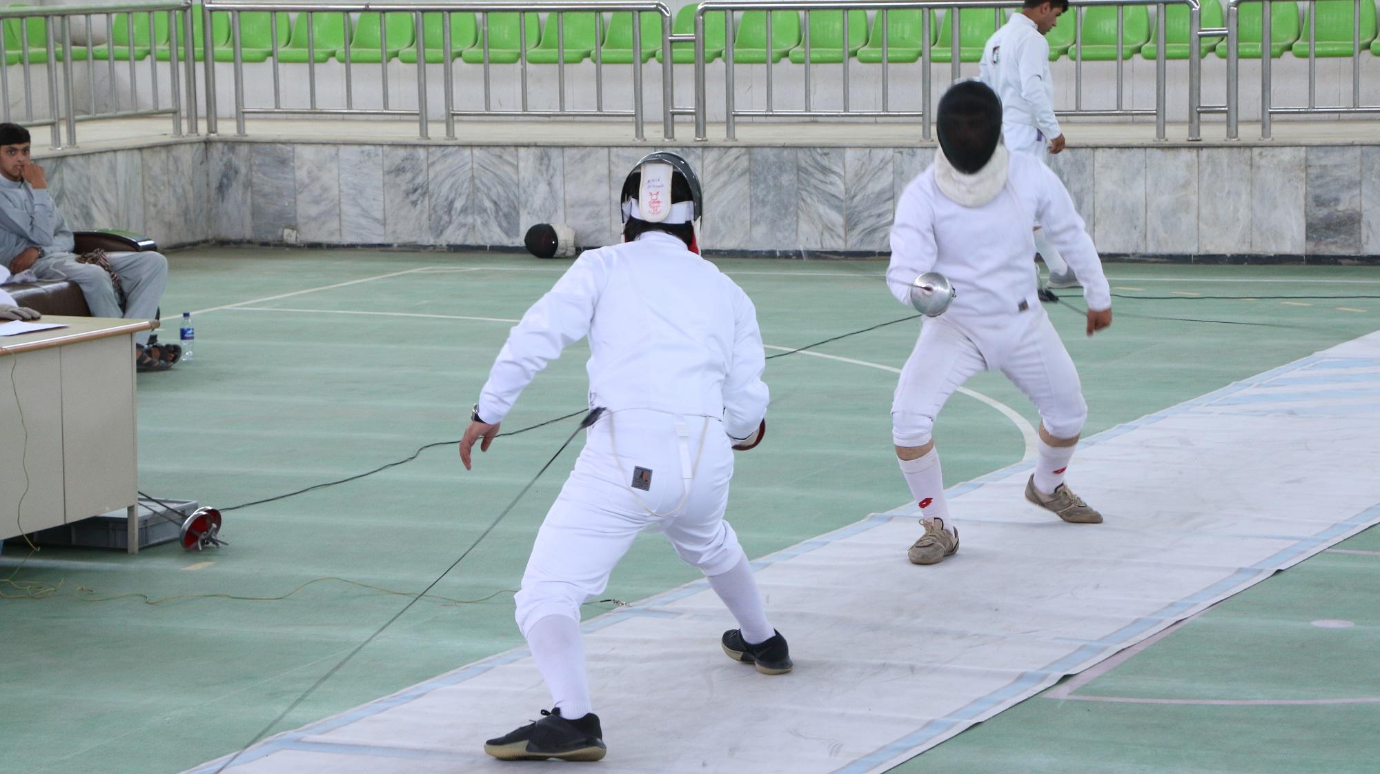 فدراسیون ملی شمشیر بازی به مناسبت گرامی داشت از روز جهانی المپیک .