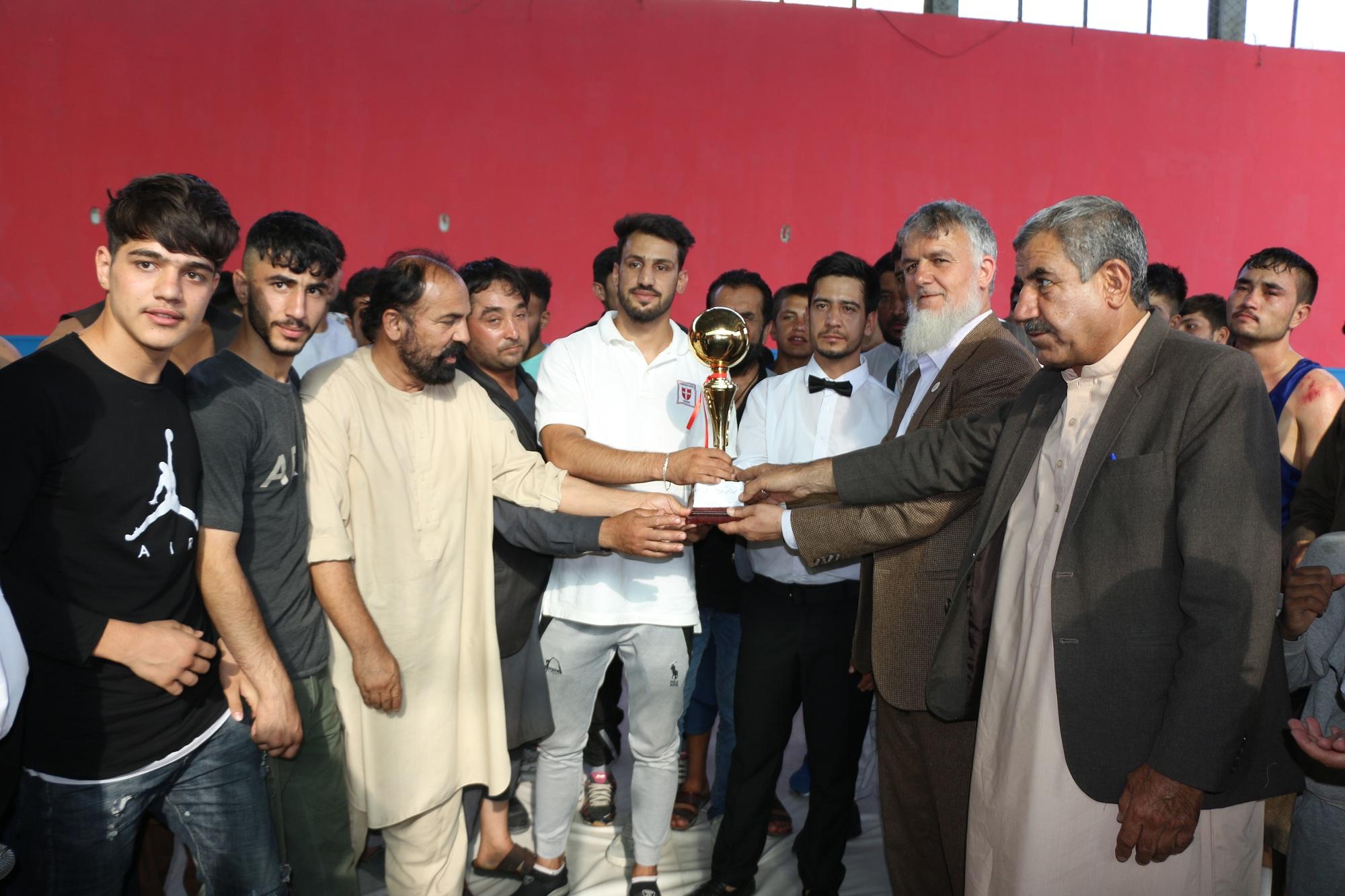 زون نمبر یک شورای چهاردهی فدراسیون مشت زنی کشور به مناسبت صدمین سالروز استرداد-استقلال افغانستان رقابت های مشت زنی را در کابل برگزار کرد .