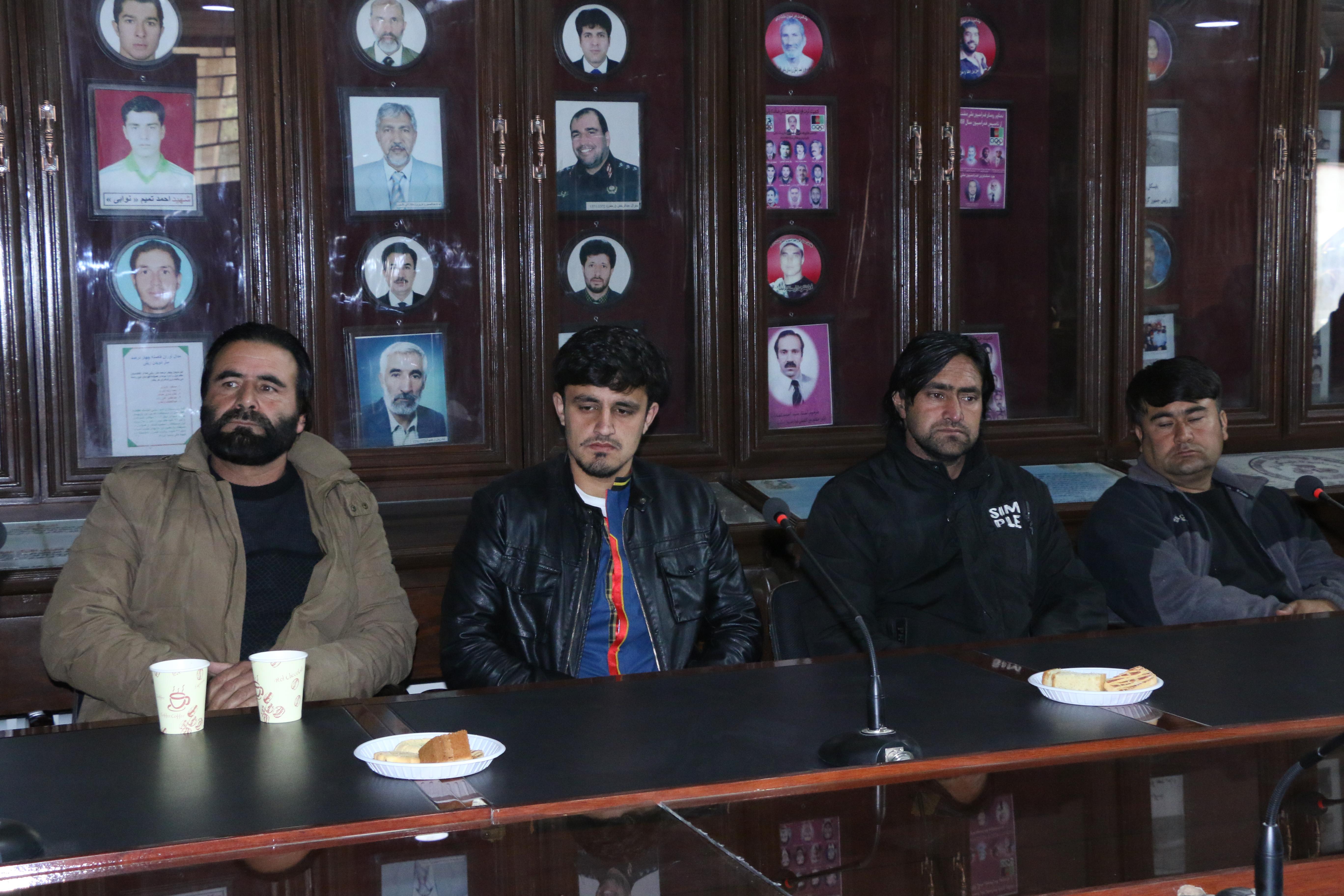 مراسم فاتحه خوانی و اتحاف دعا به روح امیر محمود محمودی رییس فدراسیون پاراالمپیک افغانستان