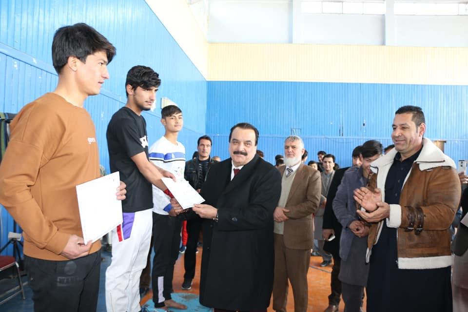 رقابتهای منتخب جمناستیک در کابل برگزارشد.