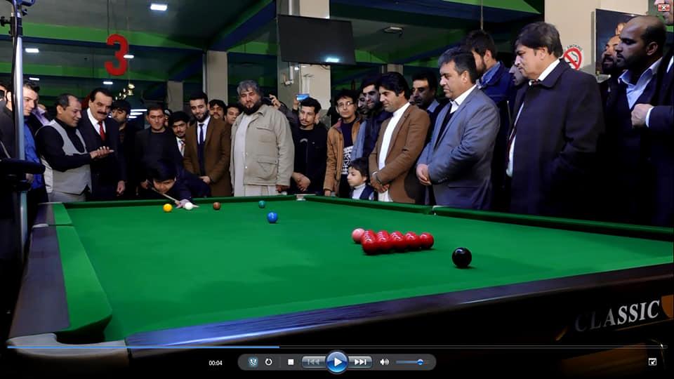 رقابت های گزینشی تیم ملی سنوکر با حضور بیش از 50 ورزشکار در کابل برگزار شد.