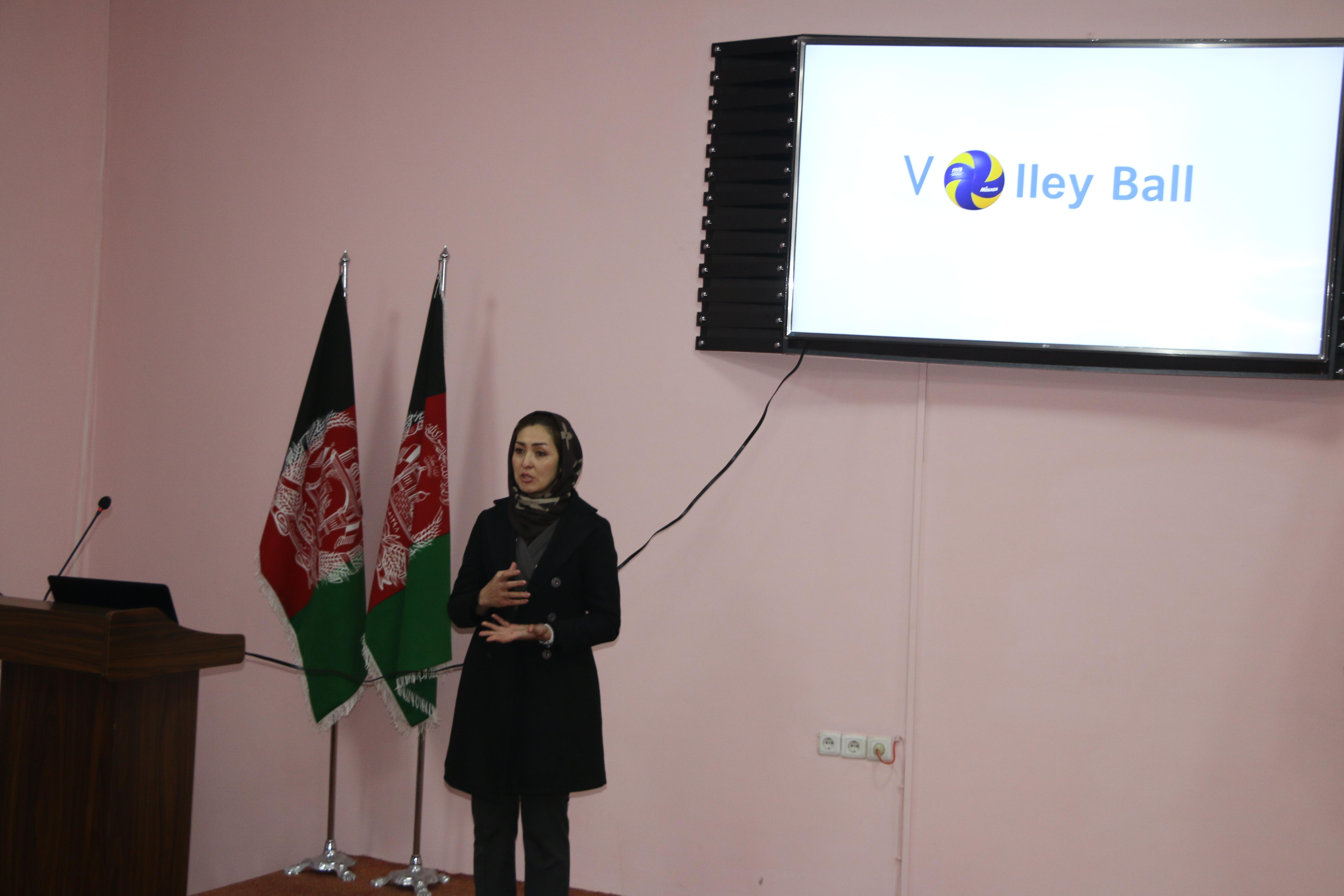 نخستین سمینار ارائه معلومات اساسی و ابتدایی والیبال دیروز در کابل برگذار گردید .