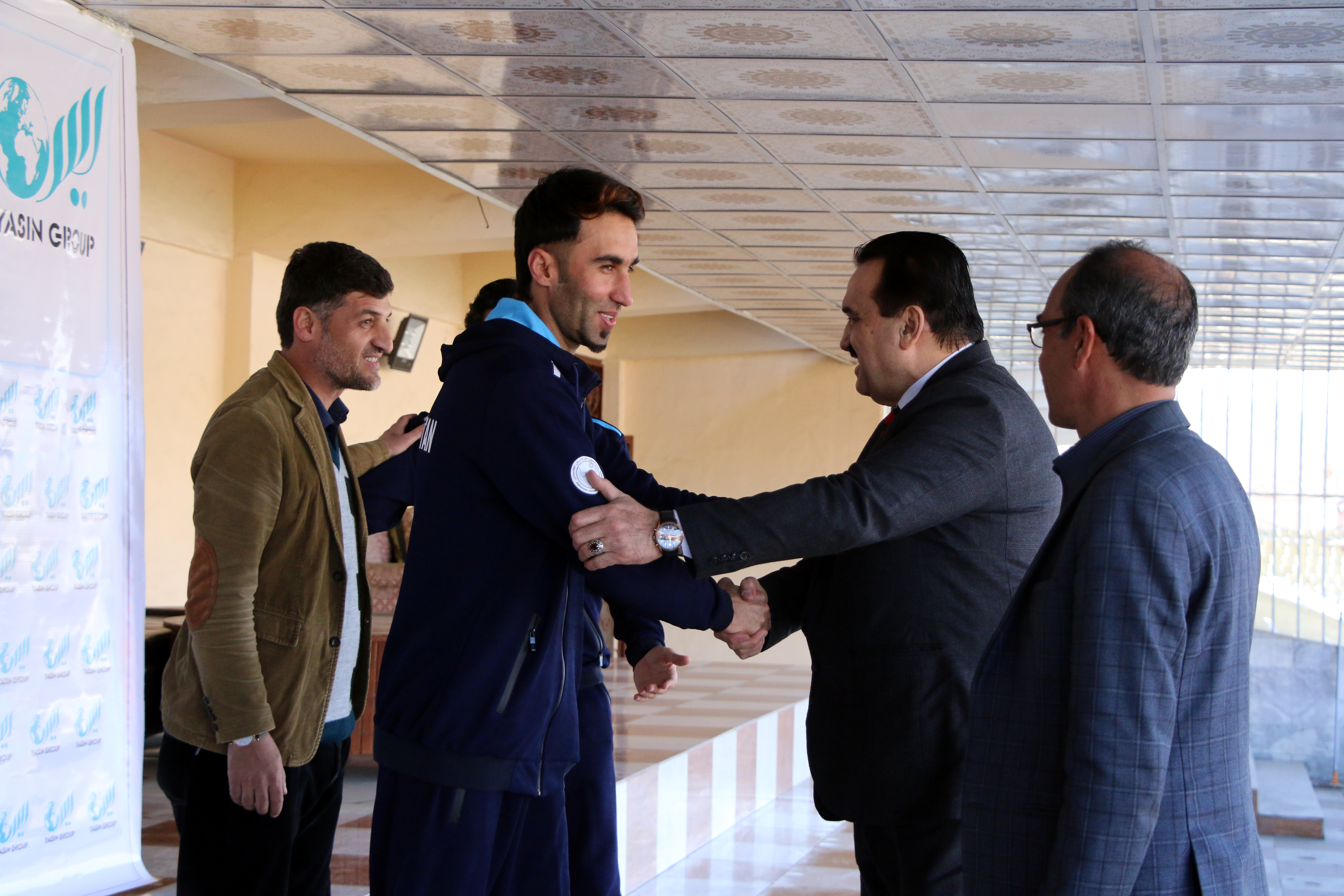 اردوگاه تمرینی بلند قامتان افغانستان در جمهوری اسلامی ایران فدراسیون ملی والیبال افغانستان