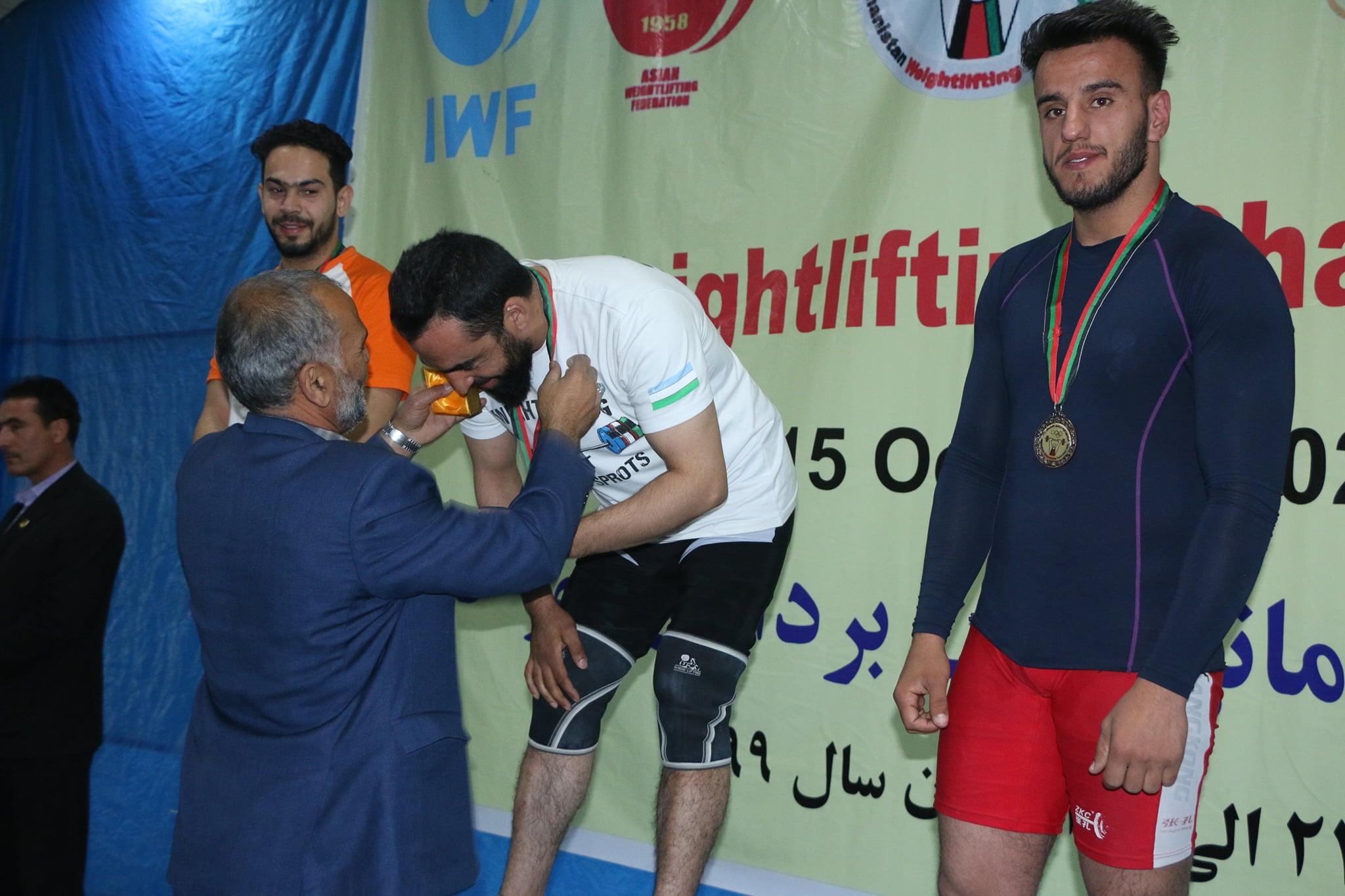 پایان مسابقات وزن برداری شهر کابل