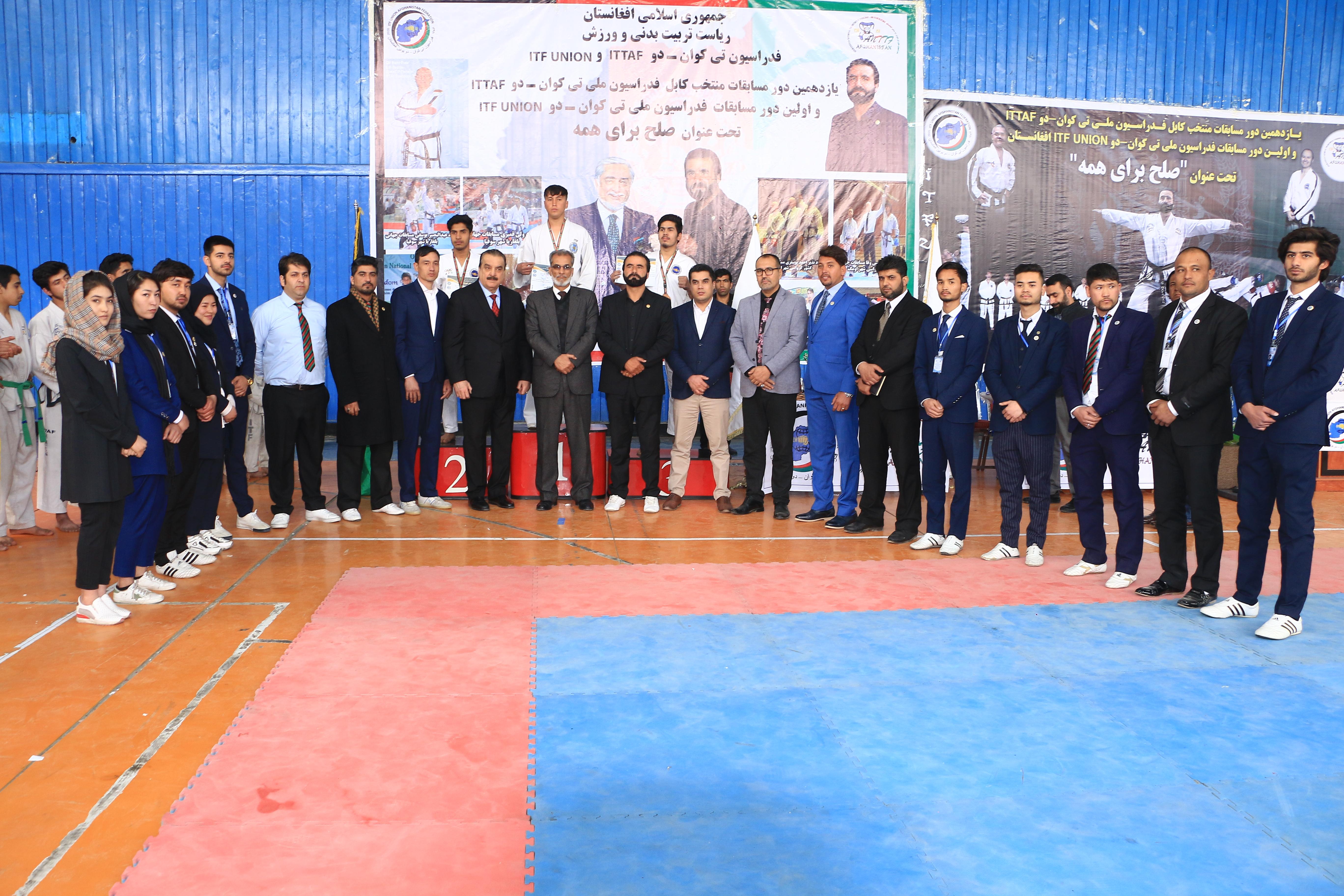 رقابت های صلح خواهانه تکواندوکاران با شناسایی و گزینش بهترین ها به تیم منتخب کابل به پایان رسید.