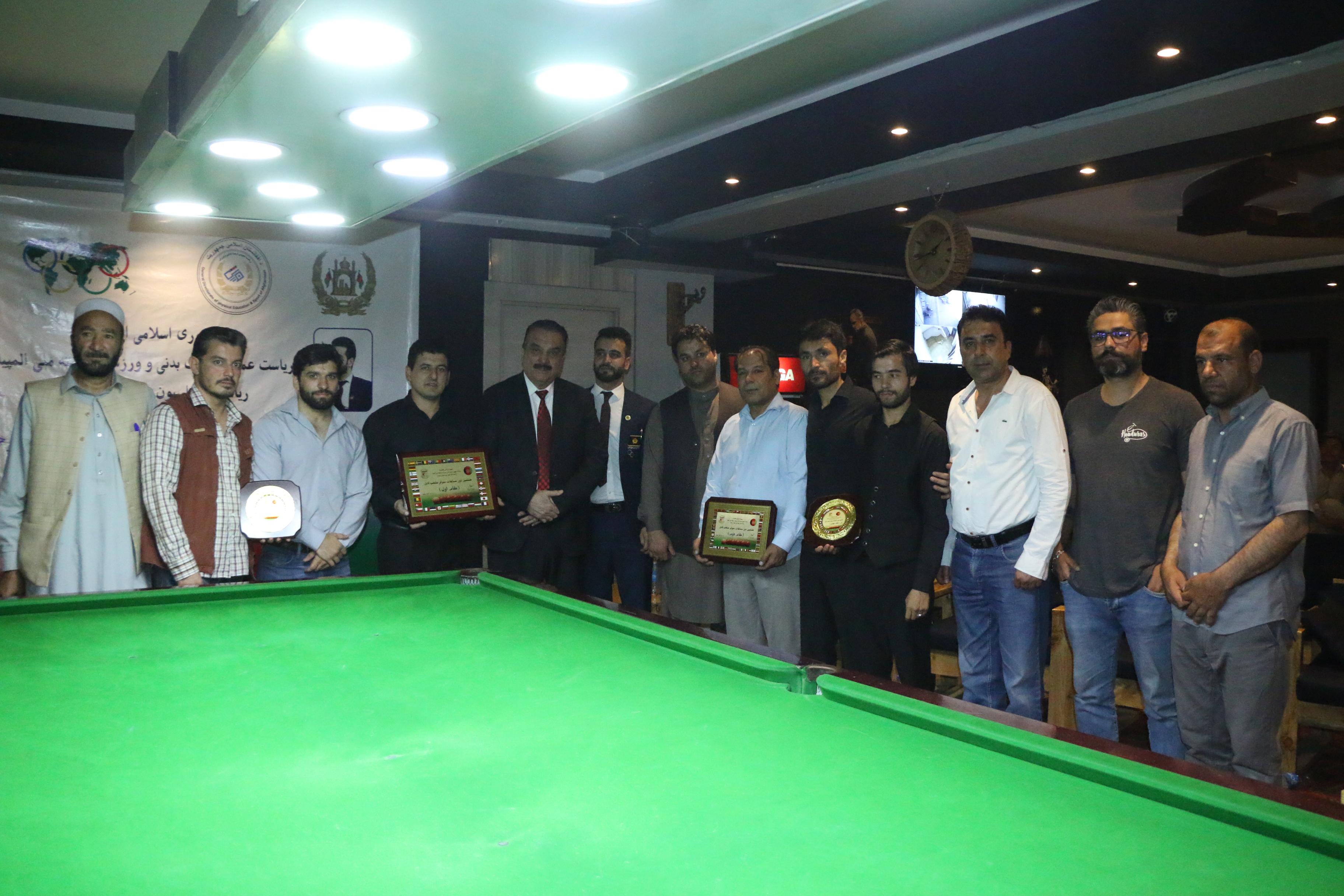 قهرمانی رییس خان سنزی در هشتمین دور رقابت های منتخب سنوکر