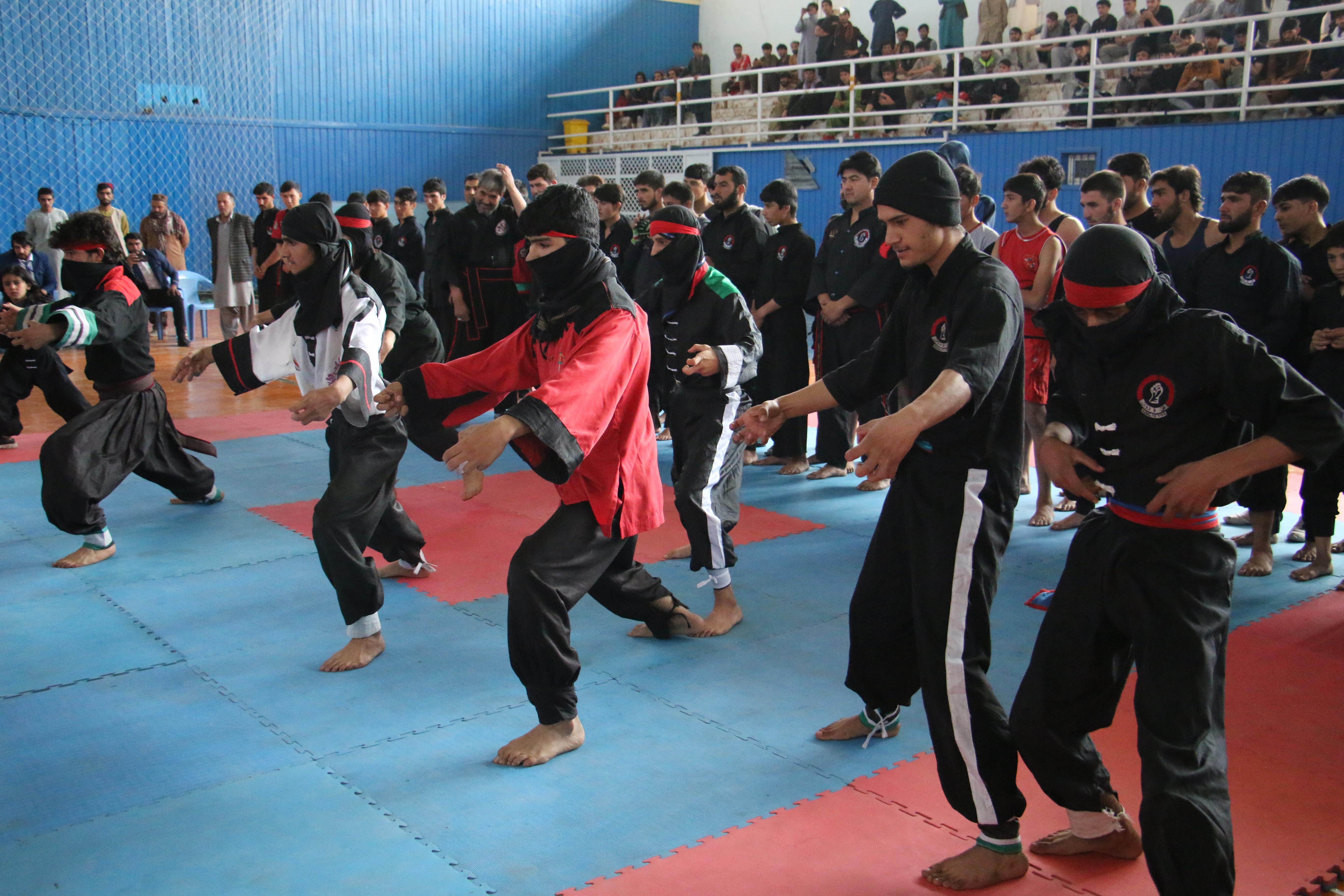 رقابتهای کانگفو در کابل برگزار شد
